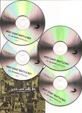 """JIMI HENDRIX """"WEST COAST SEATTLE BOY"""" UK Promo CD Set"""