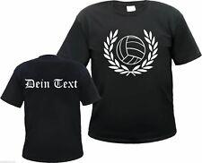 Herren T-Shirt - Lorbeerkranz und Fussball - WUNSCHTEXT - ultras fanclub vereine