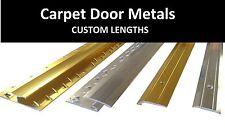 Carpet & Flooring Door Bars / Thresholds / Metal Strips - Custom Length