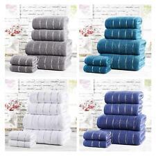Sandringham Towel Set 2 or 6 Piece Bale Bathroom Linen 450gsm Bath Towels