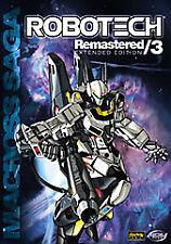 Robotech Remastered 3: Macross Collection  DVD Jean-Claude Ballard, Cam Clarke,