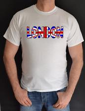 LONDON,UNION JACK, FUN T SHIRT