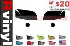Rtint Headlight Tint Precut Smoked Film Covers for Mitsubishi Raider 2006-2009
