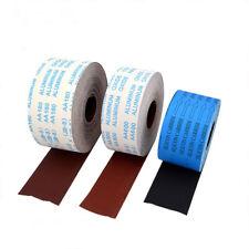 Schleifpapier Farben Lacke 115mm Körnungen wählbar Schleifrolle Rolle Schleifen