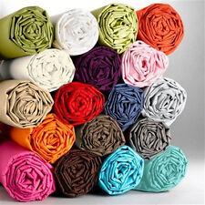1000 fils au pouce 1PC drap housse douce en coton égyptien UK Lit Taille toutes les couleurs