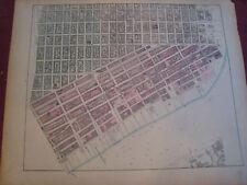 Rare 1867 Lower East Side New York City Nyc Map Atlas