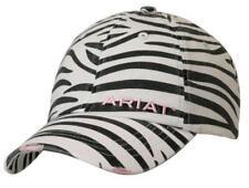 Ariat Womens Hat Baseball Cap Zebra OSFA Black White -NO TAX SELL+FREE SHIPPING