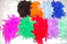 Feather Boa 2 Metre 11 COLORI ADDIO AL NUBILATO vestito operato