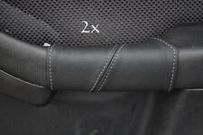 Fits SUBARU LEGACY 00-04 2xdoor en cuir gris Couvre Poignée