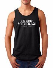 Men's Tank Top U.S. Army Veteran T-Shirt Defender Of Freedom Veterans Day Shirt