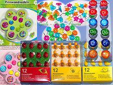 Pinnwand Nadeln, Motiv Pinns, Pinn Nadeln, Pins, Pin, Stecknadeln für Memoboard