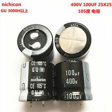 UCY2G101MHD Condensatore elettrolitico THT 100uF 400V Ø16x35.5mm NICHICON