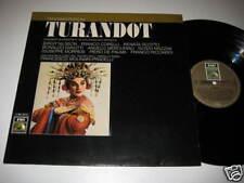 LP/PUCCINI/TURANDOT/PRADELLI/NILSSON/CORELLI/SCOTTO