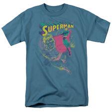 Superman Super Spray T-Shirt DC Comics Sizes S-3X NEW