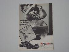 advertising Pubblicità 1973 LOTUS JPS POLITOYS POLISTIL