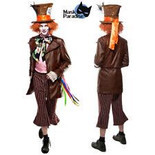 Costume Carnevale Uomo Cappellaio Matto Travestimento Cosplay Mad Hatter 80116