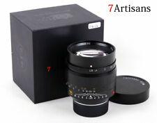 7artisans 75mm F1.25 Manual Focus Lens for Leica M-Mount Cameras Leica M2 M3