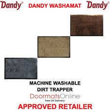 DANDY WASHAMAT  Indoor Machine Washable Door Mat 3 COLOURS 80x50cm & 90x60cm