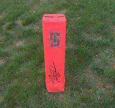 Stanford Cardinal TRENT EDWARDS Signed Autographed Football Pylon COA!
