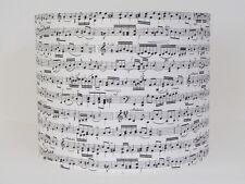 Handmade Piano Notes Music Black Cream 20CM 30CM Lampshade Lightshade Novelty