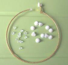 Hoop Earring Clip-on Conversion Kit - Change Pierced Hoops to Clip-ons - DIY