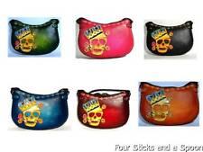 New Skull Pirate Genuine Natural Leather Skull Handmade Hobo Purse Bag – Y2