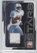 2008 Donruss Elite Stars Silver Jerseys Memorabilia #S-10 Vince Young Card