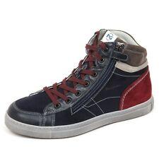 E2140 sneaker bimbo blu NERO GIARDINI JUNIOR scarpe shoe kid boy
