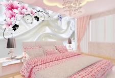 Papel Pintado Mural De Vellón Flores Blancas De Seda 2 Paisaje Fondo De Pantalla