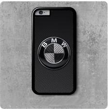 coque de protection Iphone 4/5/6/7/8/X BMW logo carbon look