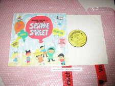 LP OST Sesame Street - Songs From (7 Song) DISNEYLAND /US PRESSING