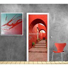 Adesivi porta decocrazione Scala Vicolo ref 590 590