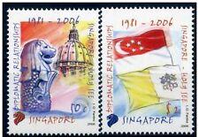 Singapore 2006 Serie emissione congiunta con Città del Vaticano  MNH