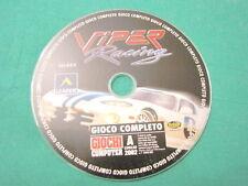 cd rom x per pc gioco VIPER RACING leader sierra bello