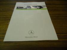Verkaufstaschenbuch Mercedes M-Klasse W 163 von 03/1999