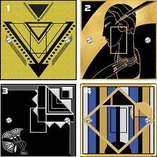 Fresh Art Deco Design Standard Switch Stickers