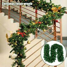 2.7M Garland Rattan Ornaments Houseplant Christmas Wreaths Garlands Plants Pine