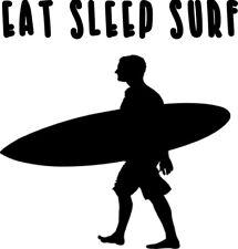 Eat, Sleep, Surf Decal  Sticker  Vinyl Decal Sticker    buy 2 get 1 free