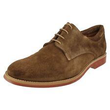 hommes Delta Daim Marron Chaussures à lacets par Anatomic & Co