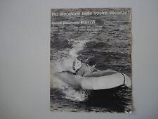 advertising Pubblicità 1963 GOMMONE BATTELLO LAROS PIRELLI