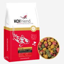 Koifutter 15 kg 5 Sorten Mix 3mm 6mm Koi Goldfischfutter Spirulina Fisch Teich