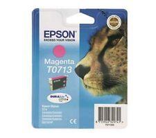 Epson T0713 Magenta Genuino Cartucho de Tinta
