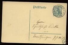 Germany 1913 Stationery Card Used #272