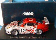 PORSCHE 911 GT3 RSR #80 FLYING LIZARD MOTORSPORT LE MANS 2005 EBBRO #778 1/43