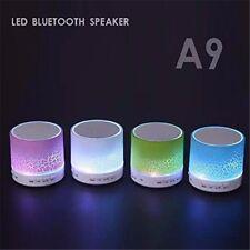 Mini Wireless Stereo Bluetooth Speaker FM Led