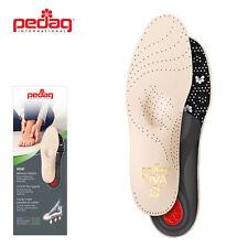 pedag VIVA Wellness Fußbett Fußbetteinlage Leder Einlegesohle Aktivkohle G.35-50
