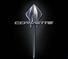 GM / Chevrolet Corvette Stingray C7 Logo BLACK Adult T-shirt