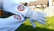 Beekeeper Bee gloves Beekeeping Gloves Goat Skin Leather & Cotton UK Seller