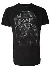 Gangster Skelton Mens Genuine Darkside T Shirt