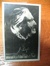 SILVER  GELATIN PHOTO  BROMOGRAFIA FRANZ LISZT HUNGARIAN PIANIST COMPOSER NICE